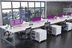 desk solutions - moveable modular storage