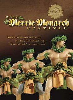 The Merrie Monarch Festival is a huge event every year and I always look forward to the history, stories, the dance, the costumes and lei that each hālau wears.