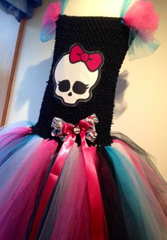 Monster High Tutu Dress by TootieBooBowtique on Etsy, £25.00