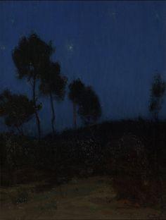 Nocturnal Landscape - Henry Ossawa Tanner (1859-1937)