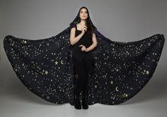 Starry Velvet Cloak by CostureroReal