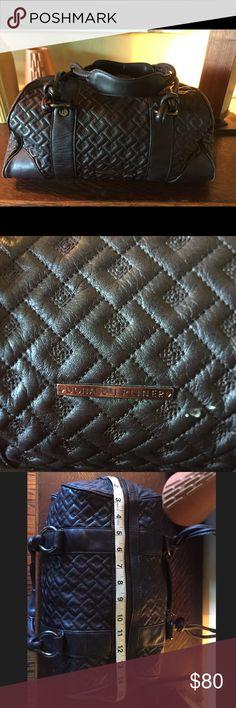 Donald J Pliner dark brown duffel style purse. Donald J Pliner dark brown duffel style purse. Donald J. Pliner Bags Shoulder Bags