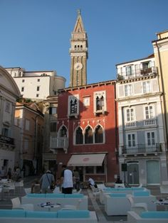 Piran ,Slovenia Piran is also the Theatre city , town museum. Concert city. Exhibition and event city center. Seduction city. It seduces the time to forget. The hustle and bustle , the stress and the stock market .