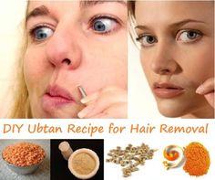 Homemade Ubtan to Remove Facial Hair