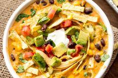 Dans la catégorie des soupes-repas super facile à faire, c'est une recette qui est vraiment très bien! Vous allez adorer 🙂