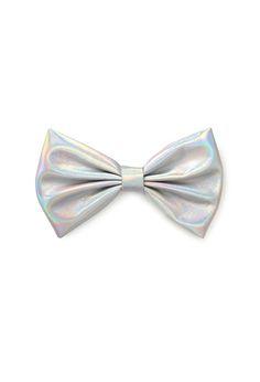Hologram Bow Clip | FOREVER21 - 1000100875