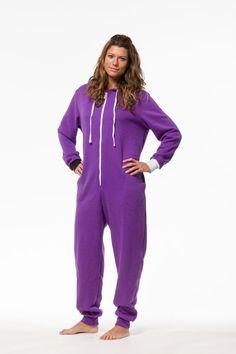 Grape Escape Funzie Onesie Got to get one now! Purple Love, All Things Purple, Shades Of Purple, Purple Stuff, Mauve, Pajamas All Day, Purple Reign, Textiles, Trends