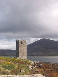 Granuaile's Tower, Kildavnet, Achill Island, Ireland ~The Pirate Queen~