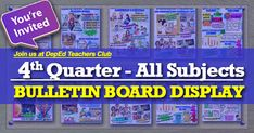 We are always on the process of uploading Bulletin board display s. As requested, here are the file links. The remaining files will be uploaded soon. Elementary Bulletin Boards, Bulletin Board Design, Interactive Bulletin Boards, Math Boards, Bulletin Board Display, Classroom Bulletin Boards, 1st Grade Math, Grade 1, Daily Schedule Template