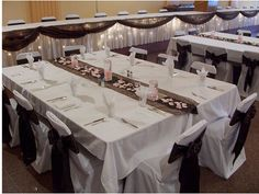 Wedding Reception two tables pushed together allows for more space and better conversation flow Wedding Table Layouts, Reception Layout, Wedding Reception Seating, Table Wedding, Reception Ideas, Head Tables, Banquet Tables, Wedding Arrangements, Table Arrangements