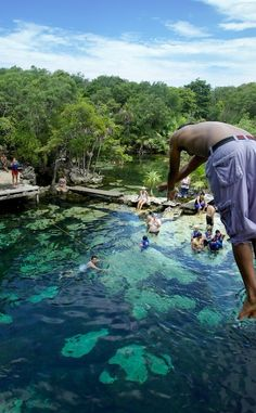 Cenote Azul | Travel | Vacation Ideas | Road Trip | Places to Visit | Bacalar | ROO | Natural Feature | Scenic Point
