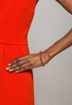 Tommy Hilfiger - CLASSIC SIGNATURE - Bracelet - roségoldfarben