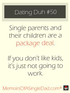 Dating a single parent advice
