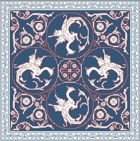 Assisi Embroideries Plate 021