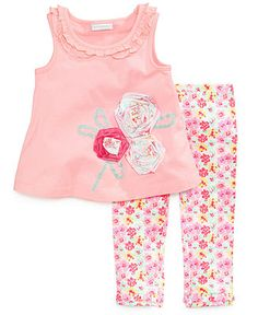 First Impressions Baby Girls' 2-Piece Tunic & Leggings Set - Kids Baby Girl (0-24 months) - Macy's
