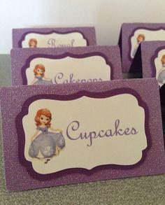 Sofía la primera tienda tarjetas tarjetas de nombre por NiuDesigns