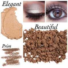 """Re-create this look with Younique Moodstruck Minerals Pigment Powder in 'Beautiful', Moodstruck Precision Pencil Eye Liner in 'Prim"""" and & Splurge Cream Eye Shadow in 'Elegant'. Perfect special occasion look. Click to order"""