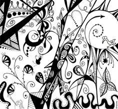 Illustration Art Drawing Black and White. annakoehler.com