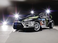 Another view of Ken Block's Fiesta....great styling