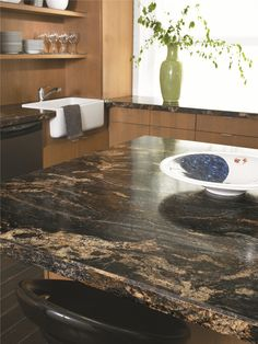 3467 - Blue Storm #interiordesign #kitchen #countertop