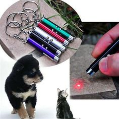 Funny Mini Multi-Function Laser Pointer Pen LED Money Detector Pet Cat Dog Toy W