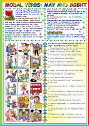 This is for upper elementary, this worksheet consists of brief explanations and exercises. Part A Fill in the blanks with may, might or must. Kindergarten Math Worksheets, Grammar Worksheets, Worksheets For Kids, Student Reading, English Lessons, Upper Elementary, Teaching English, May, Sentences