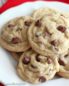 Our all-time FAVORITE Chocolate Chip Cookies recipe! Everyone will love these soft chocolatey cookies!:
