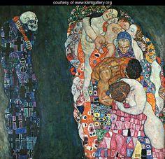 Death and Life 1911 - Gustav Klimt - www.klimtgallery.org