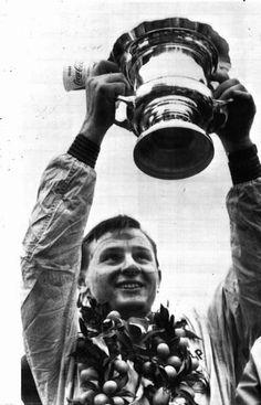 Bruce McLaren, Cooper Climax, #9, (finished 1st), USA GP, Sebring, 1959. --- 1st F1 win