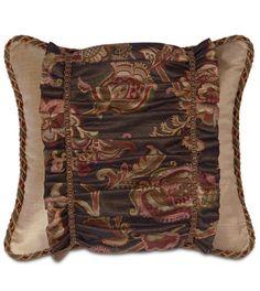 Embroidered Velvet Pillows Pair On Onekingslane Com