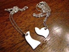 Mother Daughter Necklace  Two Necklaces in one by CarmellasJewelry, $60.00