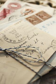 A handwritten letter...