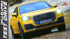 New Audi Q2 Quattro 2017 - First Test Drive - ENG ITA SUB