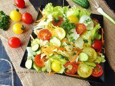 Raspberrybrunette: Ľadový párty šalát Soul Food, Cobb Salad, Raspberry, Fit, Salads, Raspberries