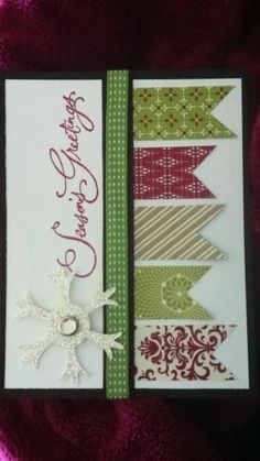 Stampin' Up! Christmas card by Mary Gibaud Ellery