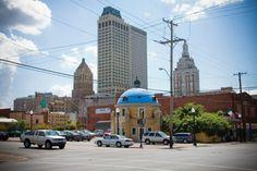 Blue Dome entertainment district