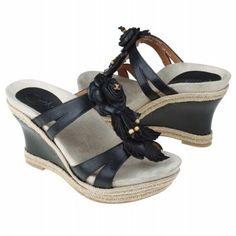 Earthies Semprini Shoes (Black) - Women's Shoes - 7.5 M