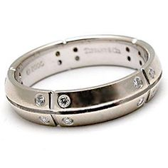 wedding band white gold tiffanyco