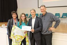 Waiuku Primary a hive of activity - Waiuku Primary School were the recipients of a cheque for $2435 last Monday October 10 which will go towards their bee colonies.