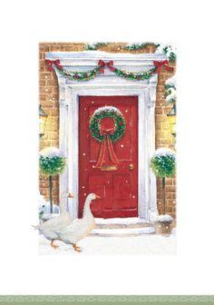 Lisa Alderson - christmas door goose.jpg