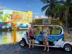 Passear de graça em Miami? É possível sim com um app chamado FreeBee! Os carrinhos elétricos levam você de graça na direção de ofertas por eles especificadas e de quebra dão carona para quem vai na mesma direção sem custos! Marque alguém que está indo a Miami nesse post para eles ficarem por dentro da barbada! Wanna get a free ride to Miami attractions? Mark someone who\'s going to Miami so that they know about this! Try #freebee #app! Photo credits @freebeemiami and…
