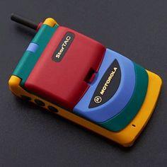 neontalk: Epic newretro! Rare colorful Motorola StarTAC...