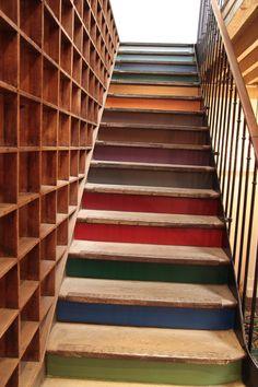 escalier Likeacolor
