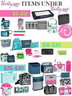 Cool Thirty-One stuff!