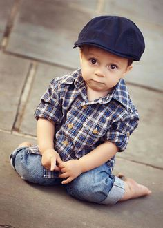 Darling little boy
