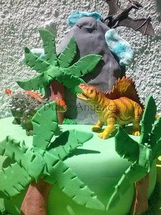 #dinosaurios #selva #palmeras #cake #tortarica