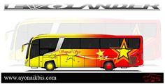Evolander Berbagai Livery Perusahaan Otobus