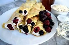 These healthy French Pancakes or American Crepes are wrapped in