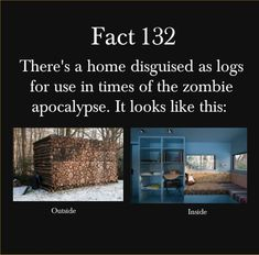 In Case of Zombie Apocalypse for my cousin Ashley and I :)
