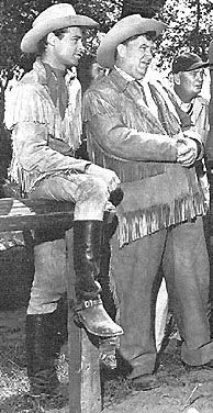 "The Wild Bill Hickok TV  show  starring Guy Madison and Andy Devine as ""Jingles"".  The show ran from 1951 to 1959."